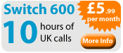10 Hours of UK Calls and Business Line Rental